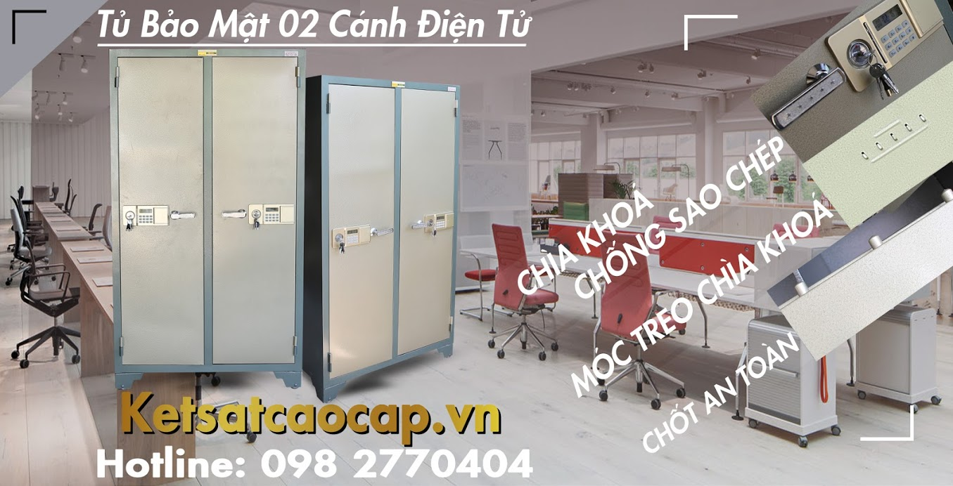 Dia chi ban tu bao mat 1 canh WELKO Safes Fire Resistant Cabinet uy tin