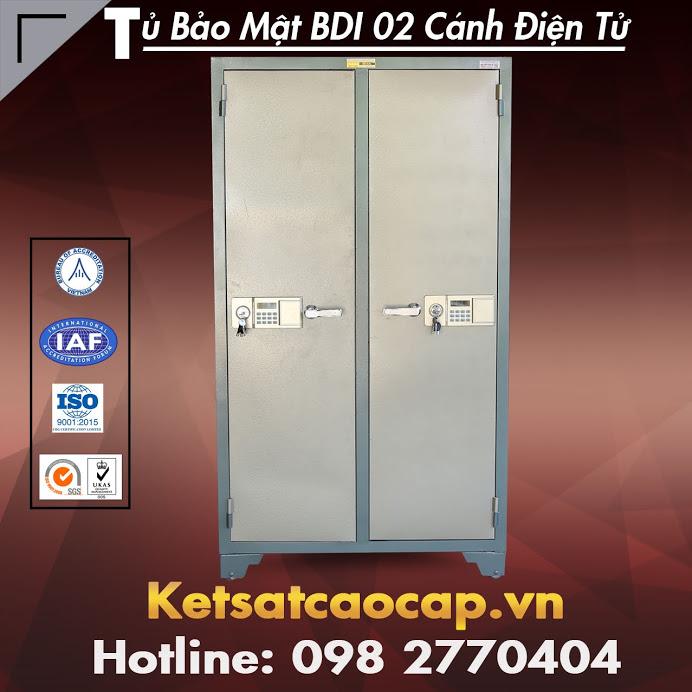 Tủ Bảo Mật BDI 02 Cánh Khoá Điện Tử
