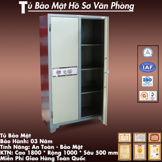Nha may san xuat tu ho so dung WELKO Safes Cabinet