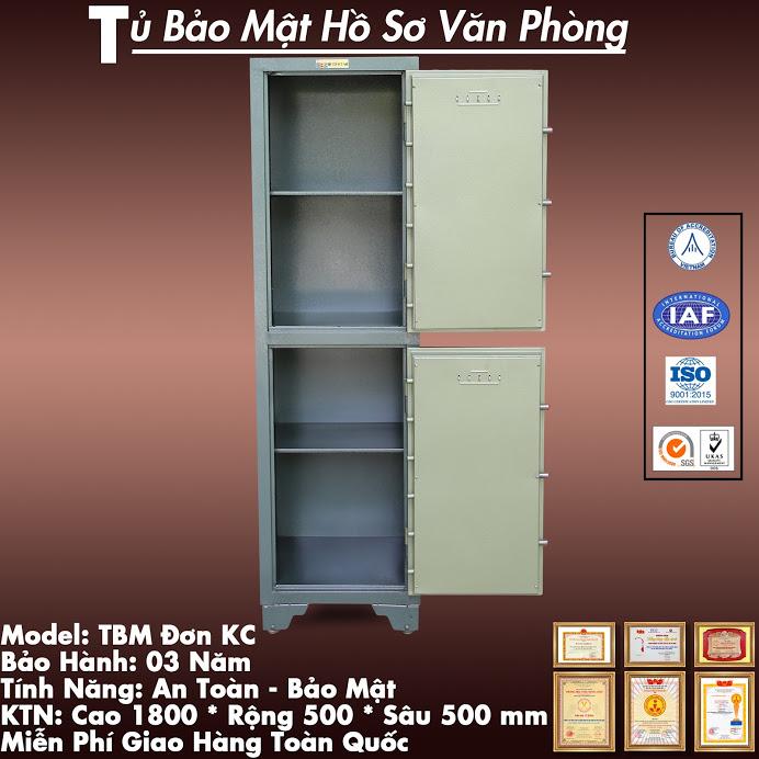 Tủ Bảo Mật BDI 02 Tầng Khoá Cơ
