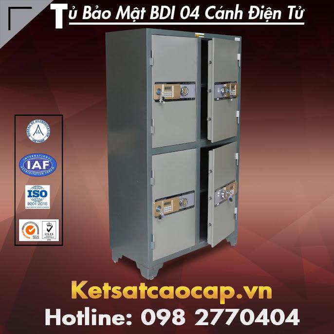đặc điểm sản phẩm Tủ Bảo Mật BDI 04 Cánh Điện Tử