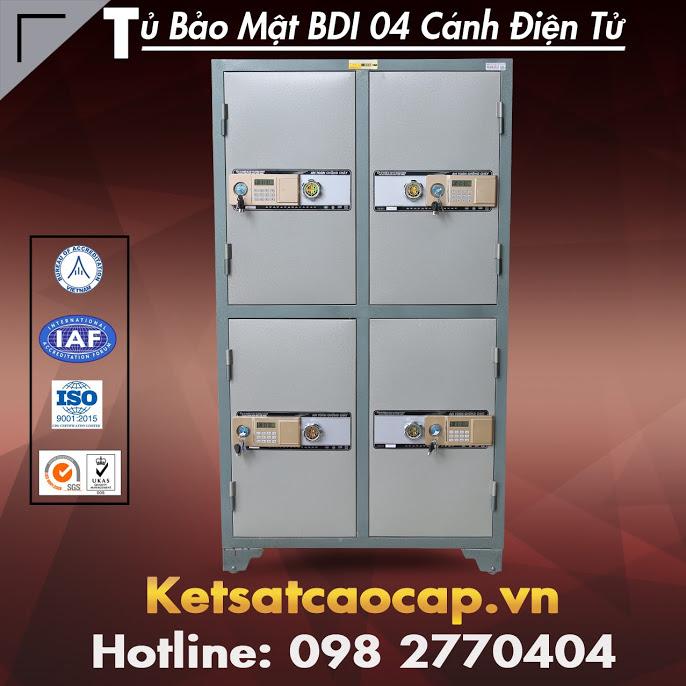 Tủ Bảo Mật BDI 04 Cánh Điện Tử