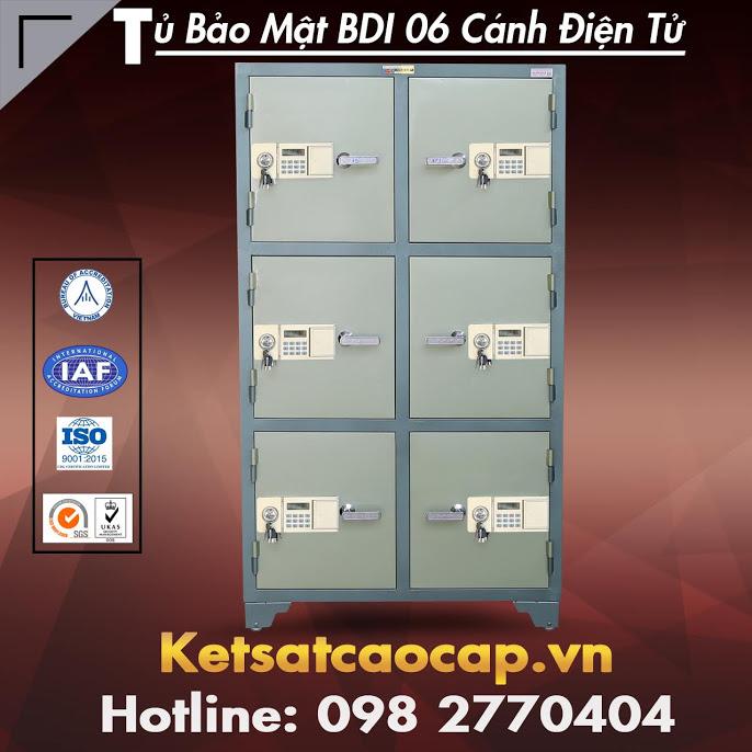 Tủ Bảo Mật BDI 06 Cánh Khoá Điện Tử