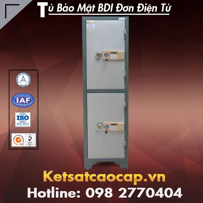 Tủ Bảo Mật BDI 02 Tầng Điện Tử