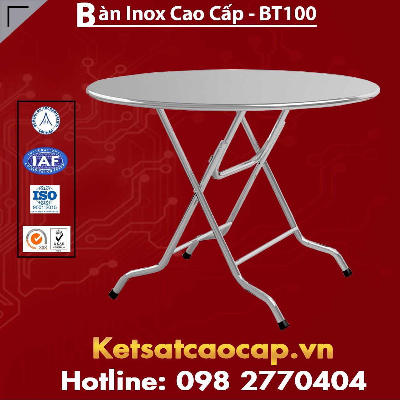 Bàn Inox Cao Cấp - BT100