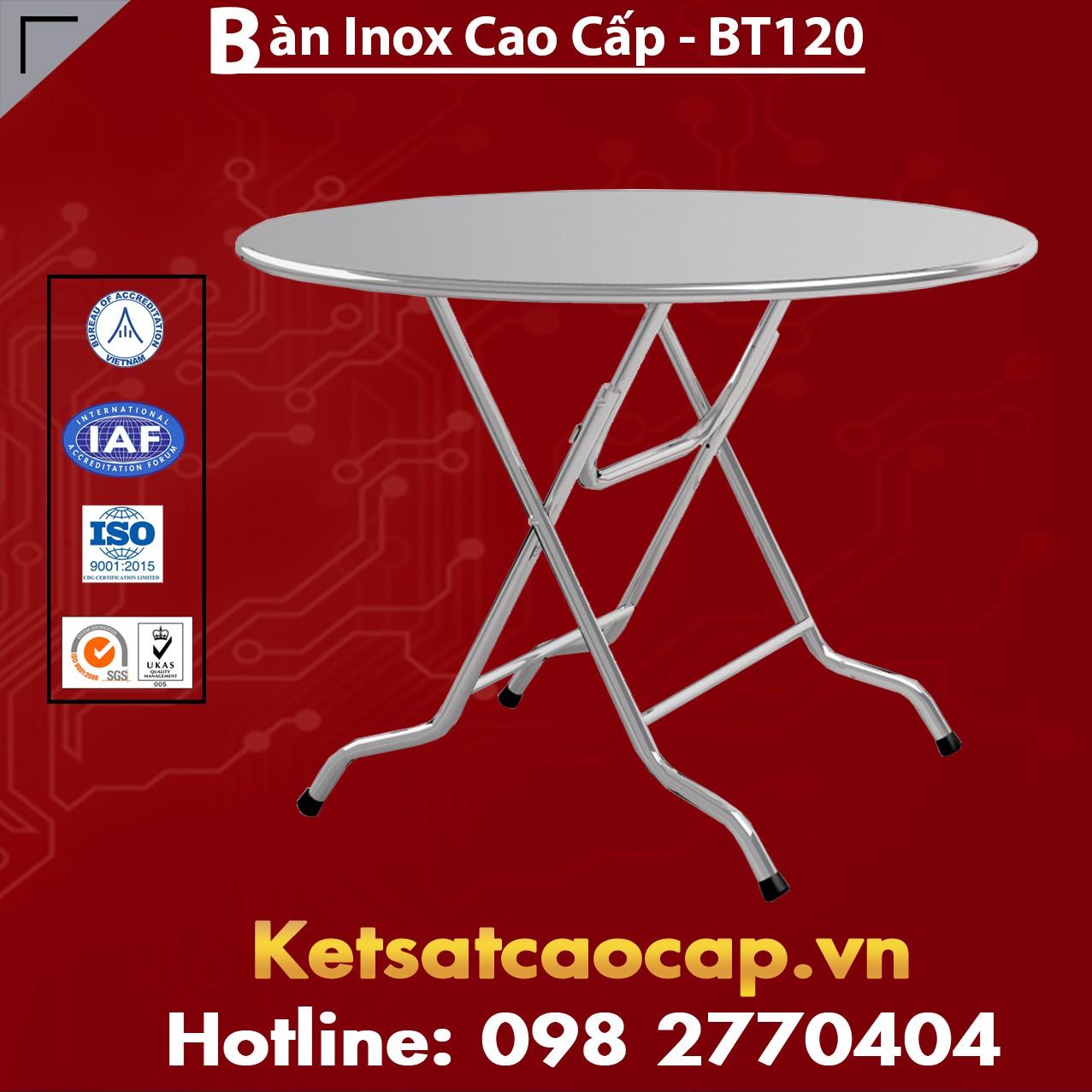 Bàn Inox Cao Cấp - BT120