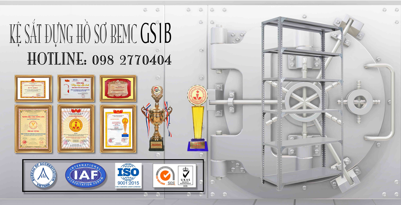 Giá sách sắt BEMC-GS1B