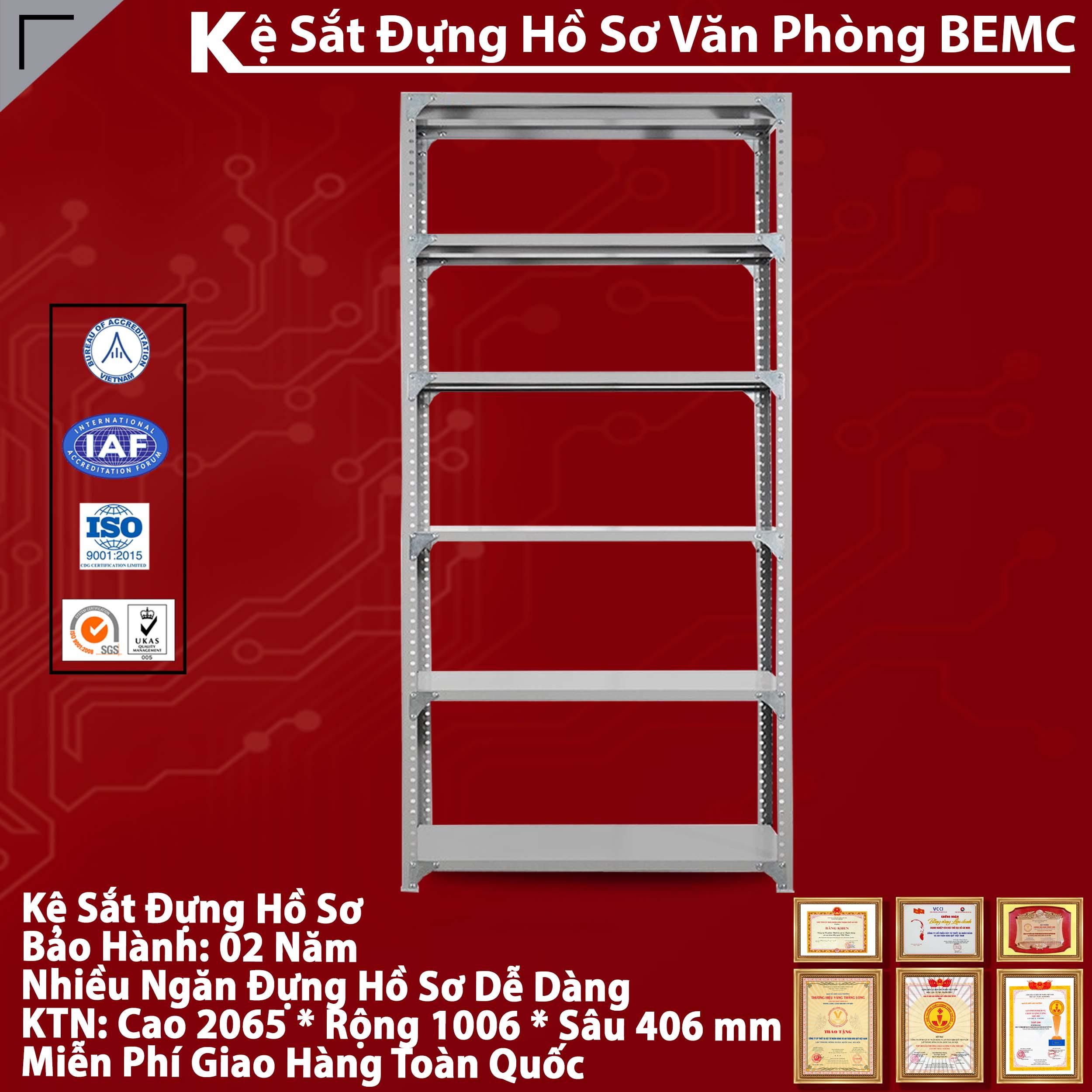 Giá kệ sắt v lỗ hòa phát BEMC-GS1B