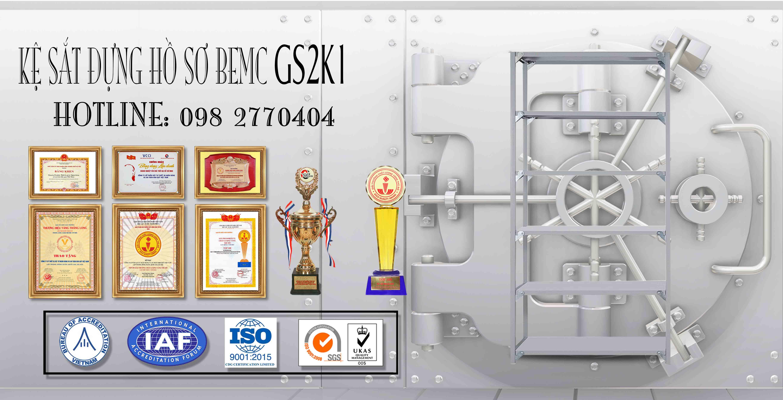 Giá thép để hồ sơ 5 tầng GS2K1