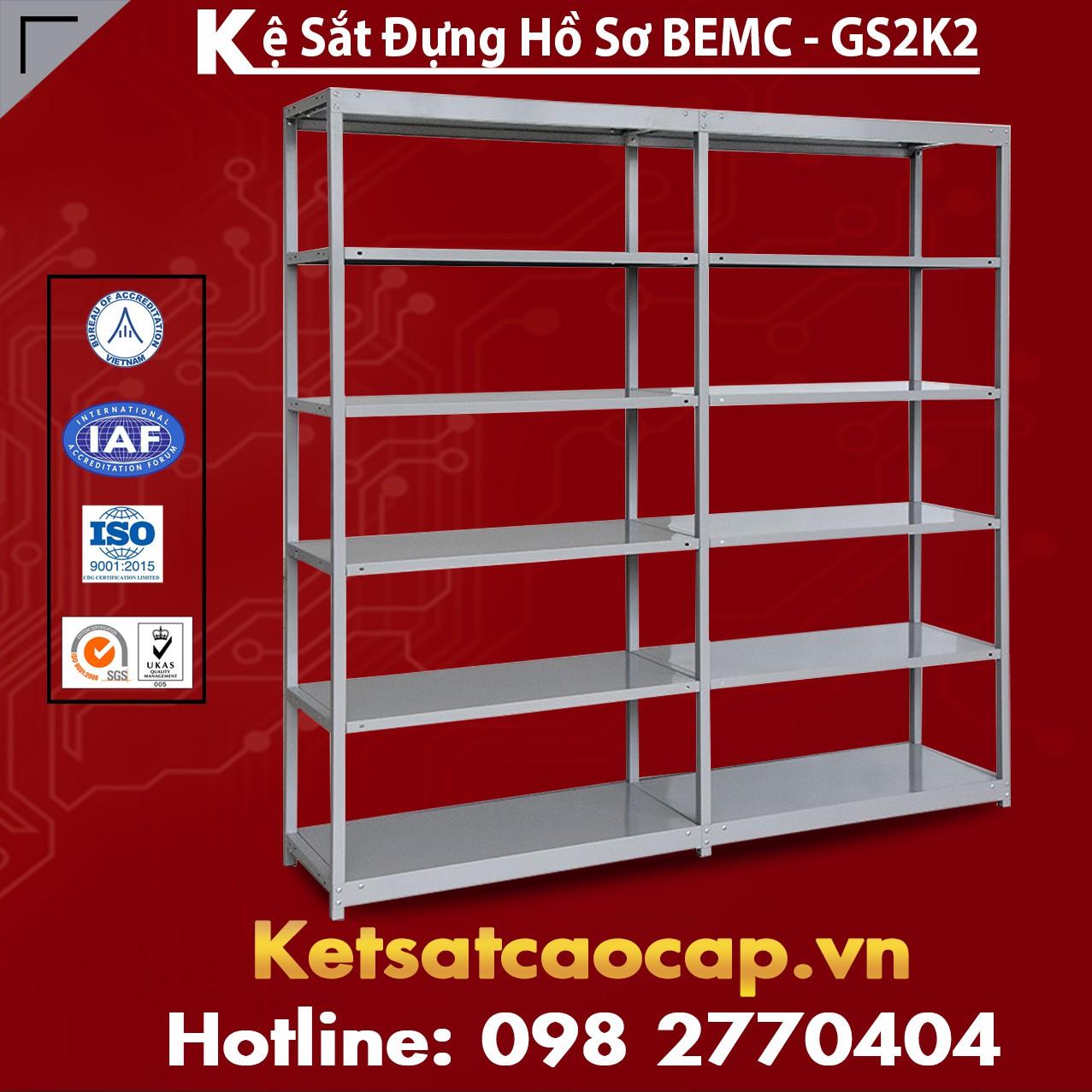 Kệ Sắt BEMC-GS2K2