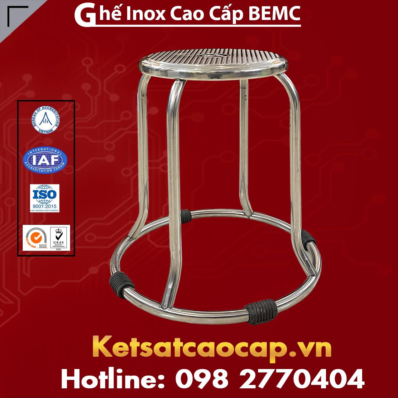 Ghế Inox Cao Cấp BEMC