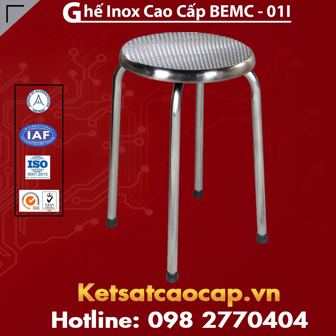 Ghế Inox Cao Cấp BEMC - 01l