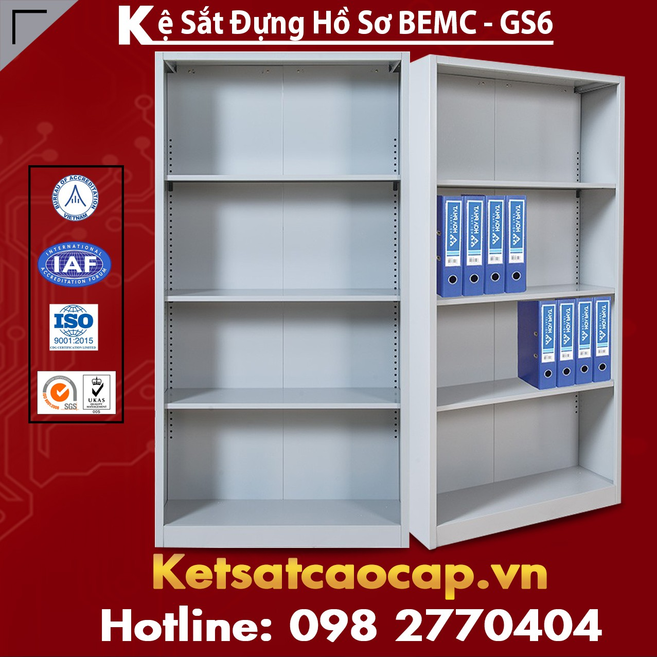 Kệ Sắt BEMC-GS6