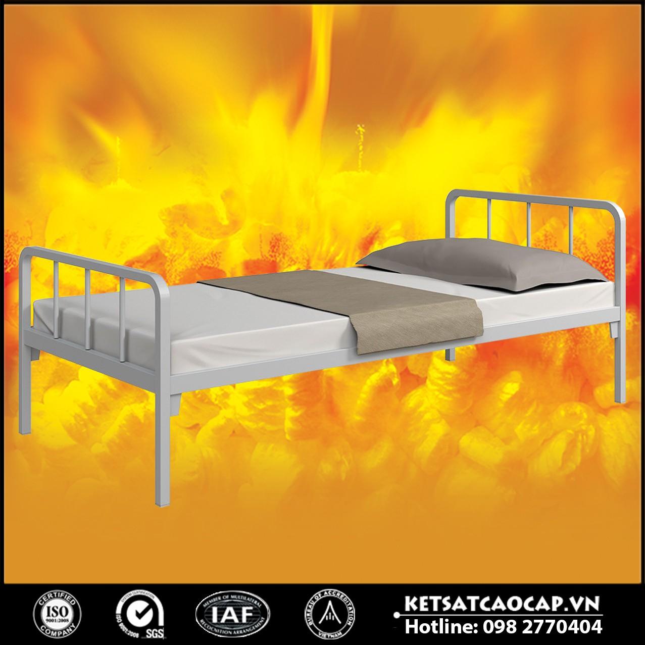Giường sắt ngủ đơn BEMC-GC6