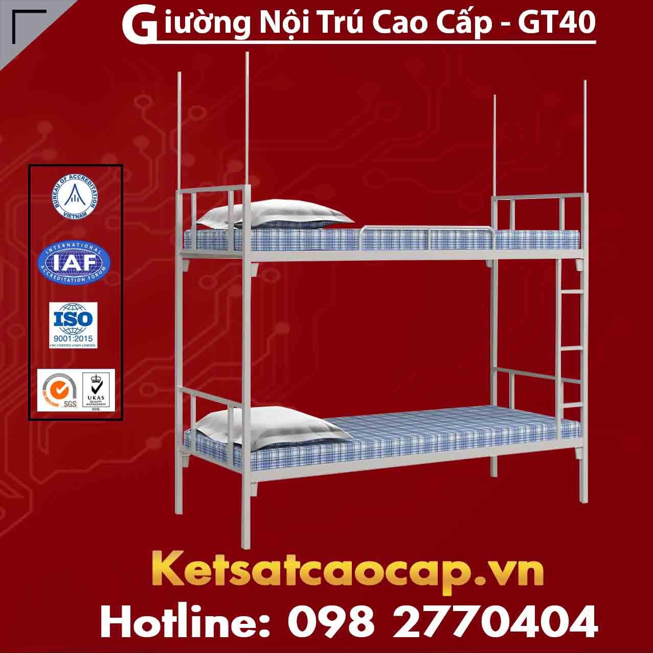 Giường Nội Trú Cao Cấp - GT40