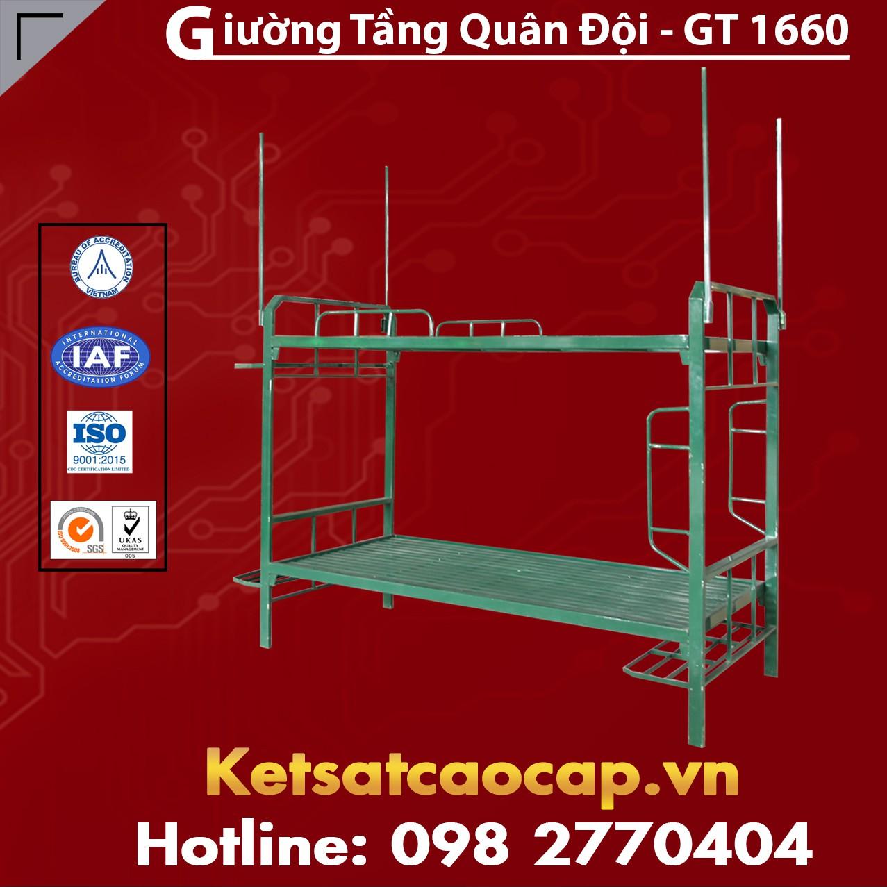 Giường Tầng Quân Đội - GT 1660