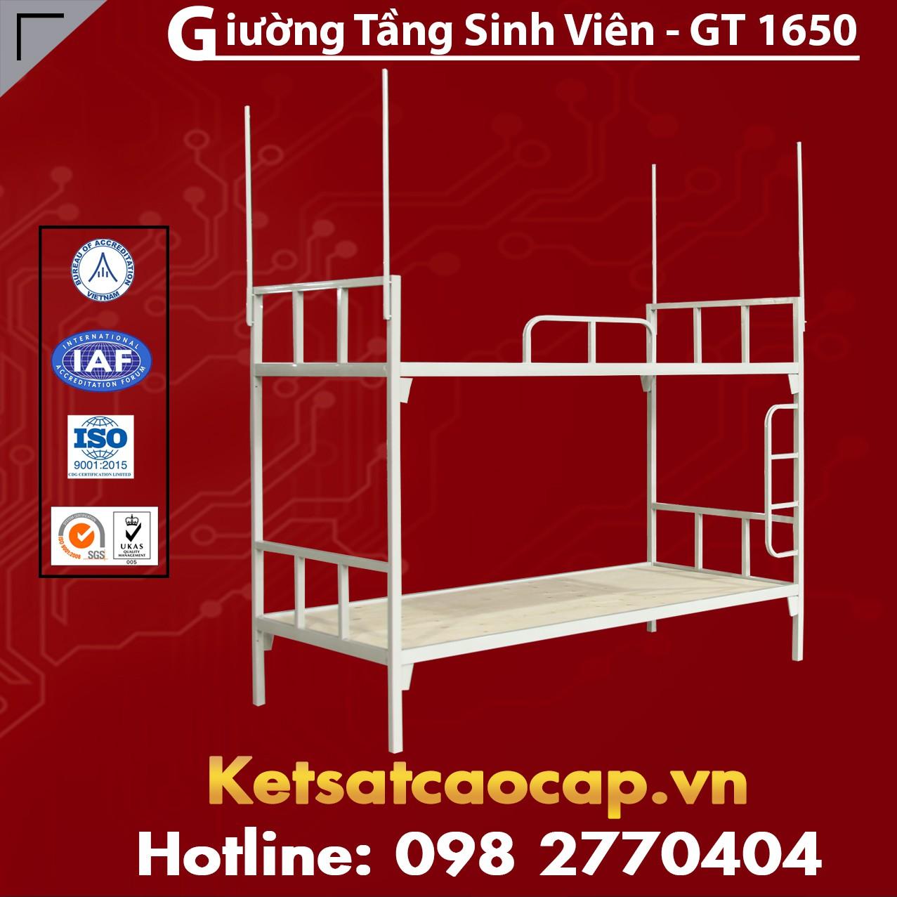 Giường Tầng Sinh Viên - GT 1650
