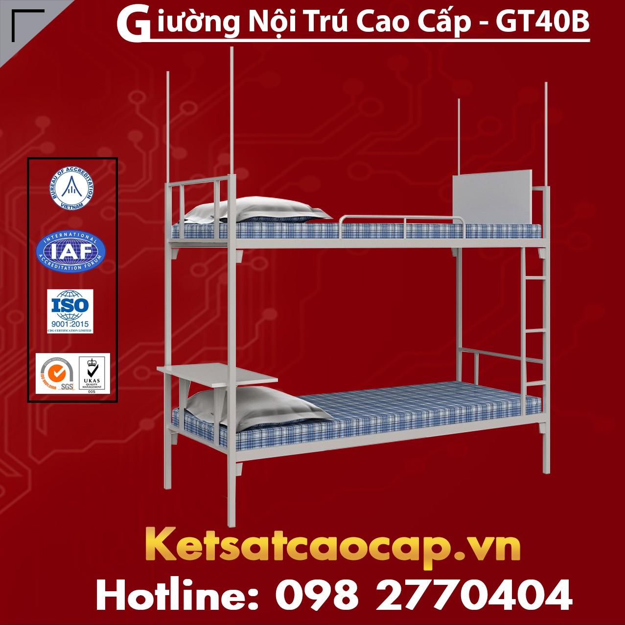 Giường Nội Trú Cao Cấp - GT40B