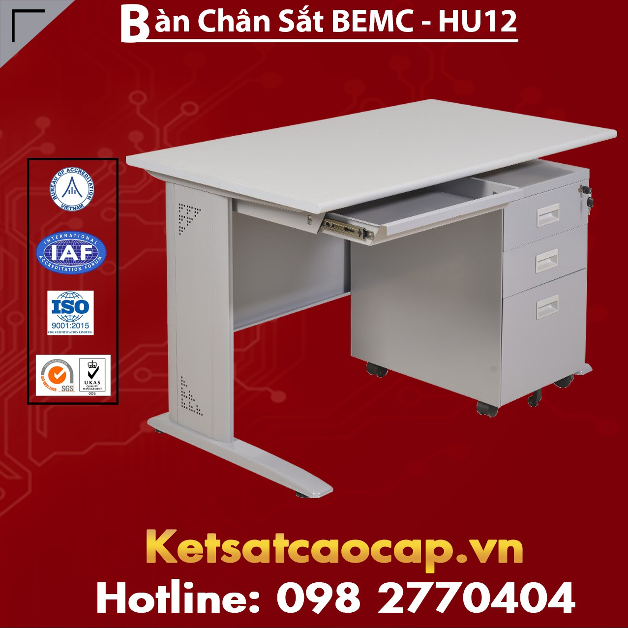 Bàn Chân Sắt BEMC - HU12