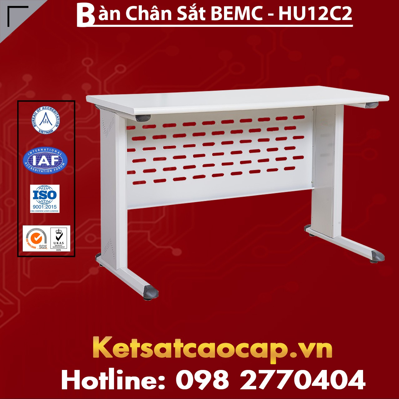 Bàn Chân Sắt BEMC - HU12C2