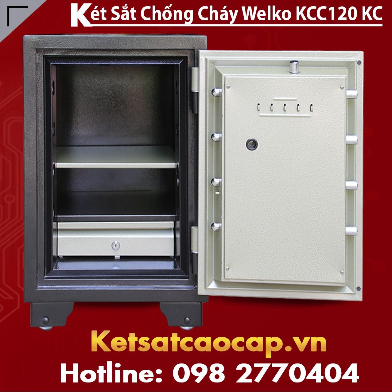Két Sắt Chống Cháy KCC 120 - KC