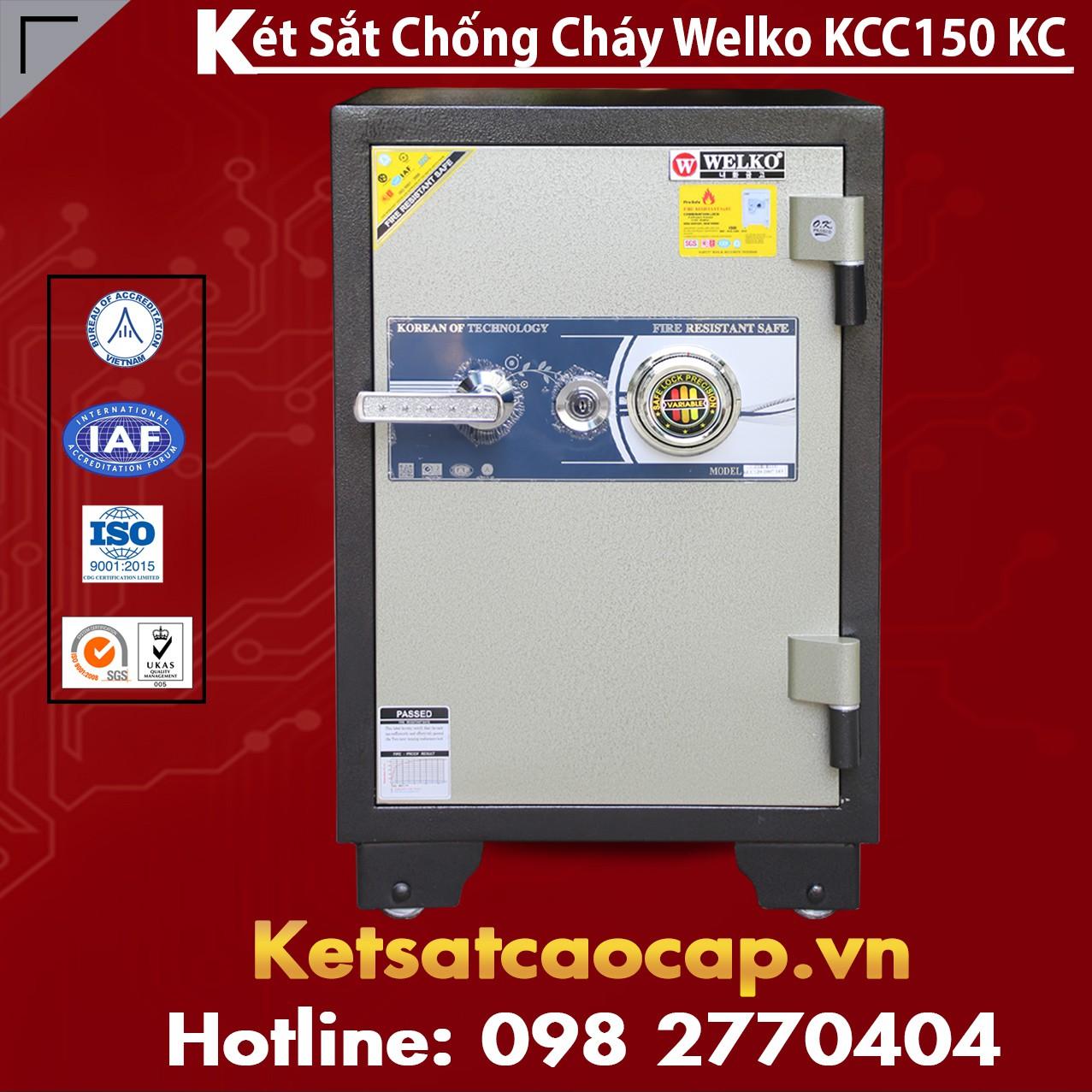 Két Sắt Chống Cháy KCC 150 - KC