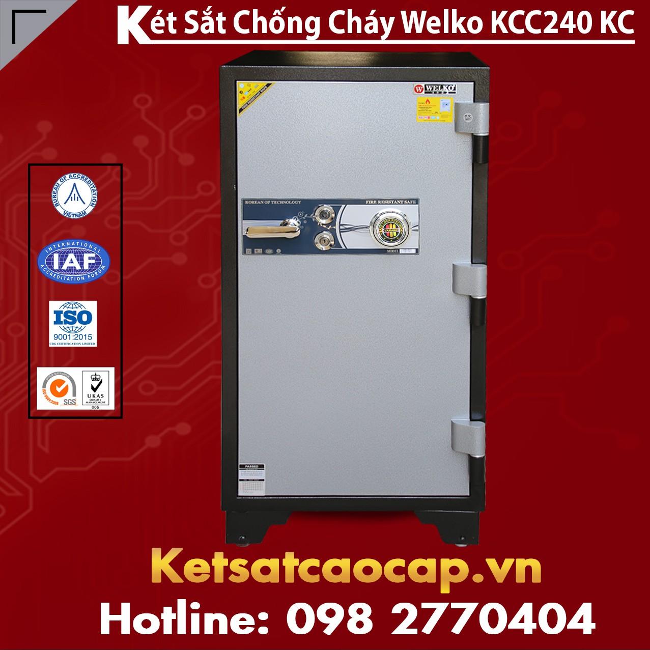 Két Sắt Chống Cháy KCC 240 - KC