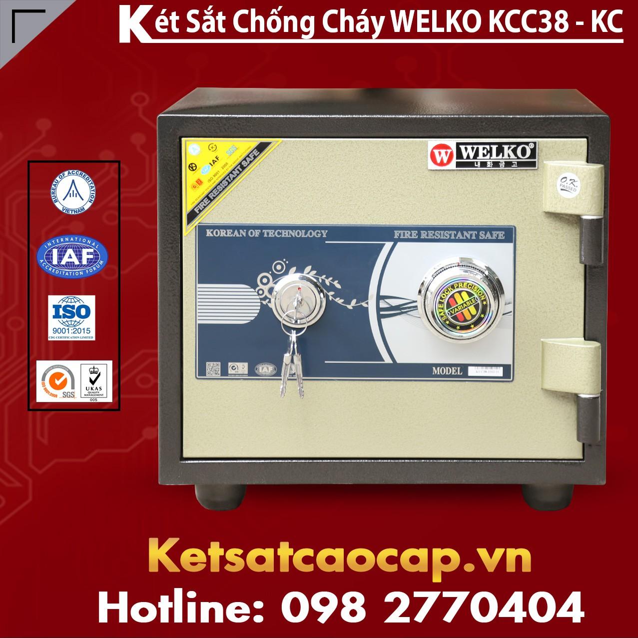 Két Sắt Chống Cháy KCC38 - KC