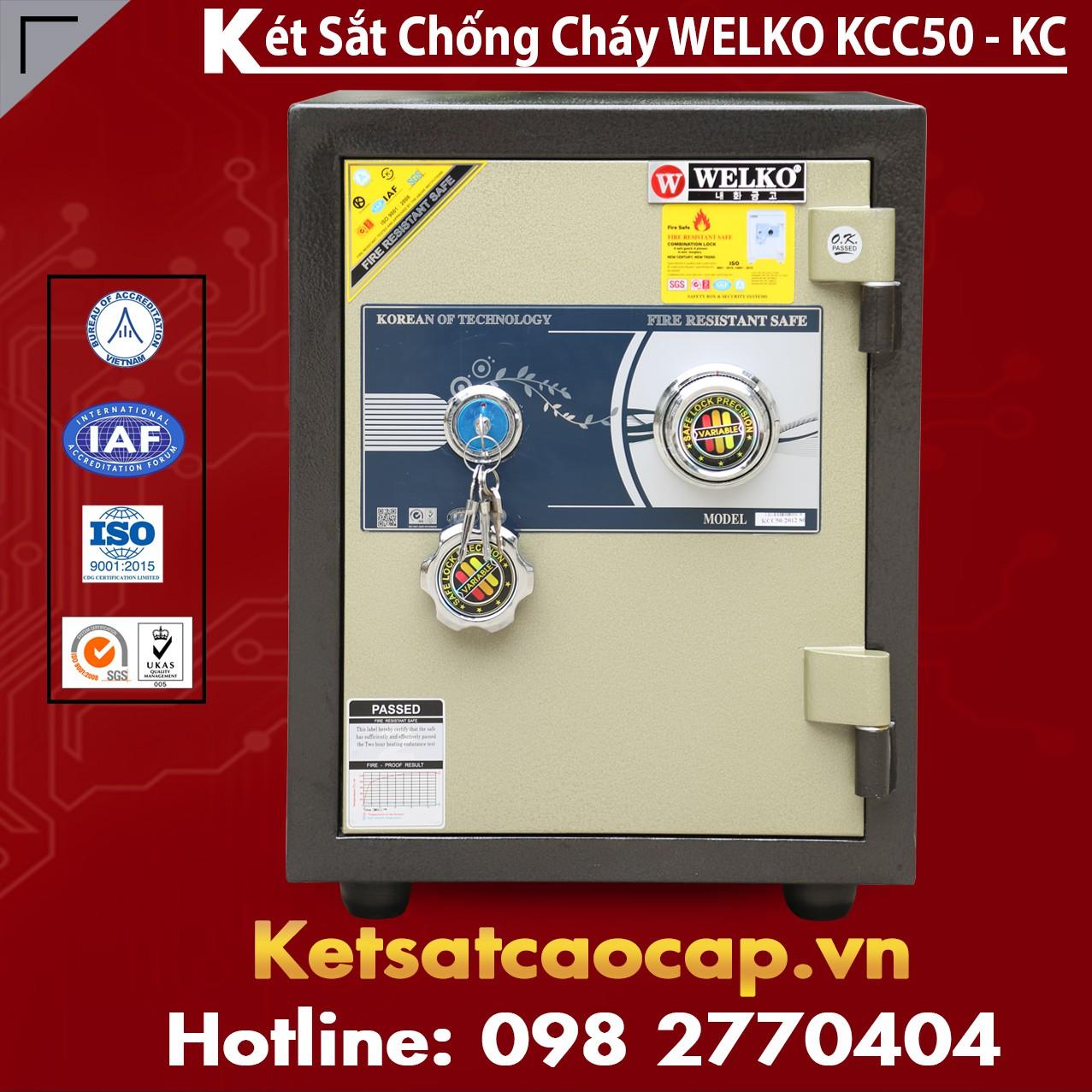Két Sắt Chống Cháy KCC50 - KC