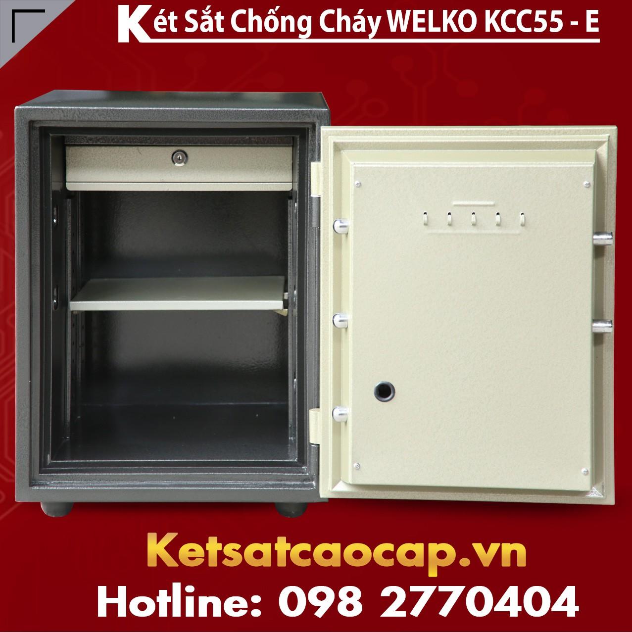 Két Sắt Chống Cháy KCC55 E - GOLD