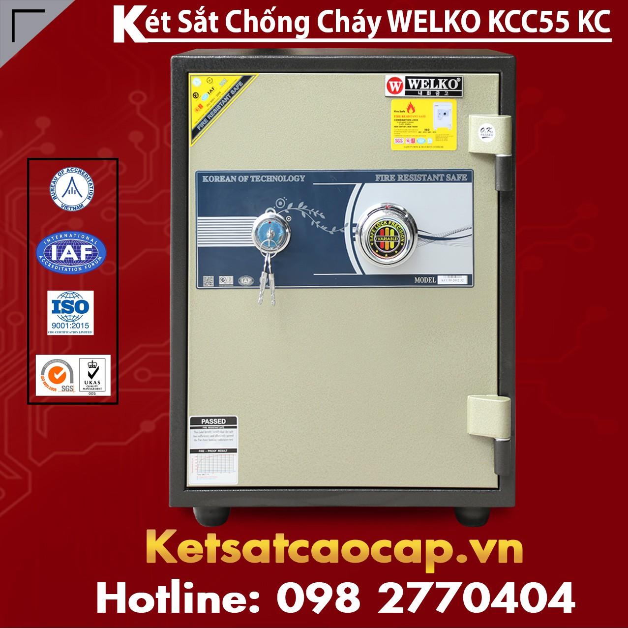Két Sắt Chống Cháy KCC55 - KC