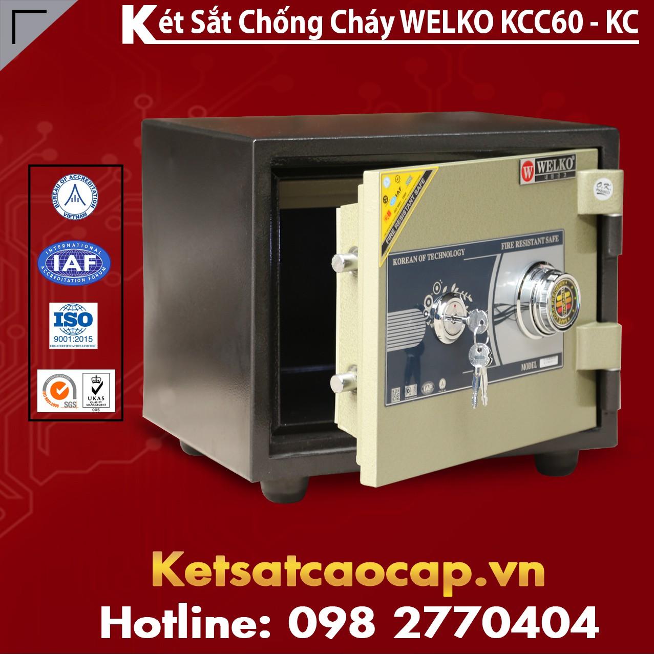 Két Sắt Chống Cháy KCC60 - KC