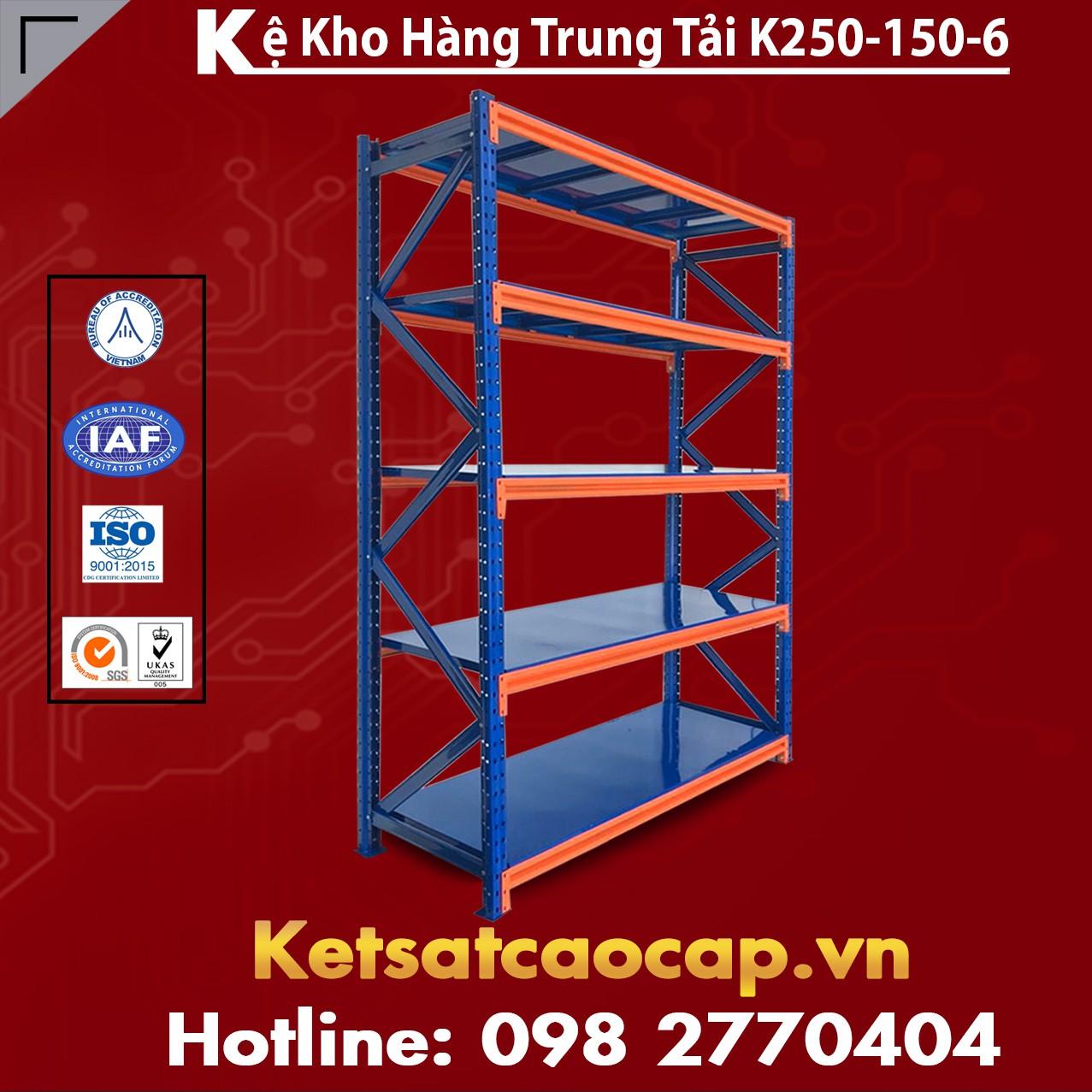 Kệ Trung Tải K250-150-6