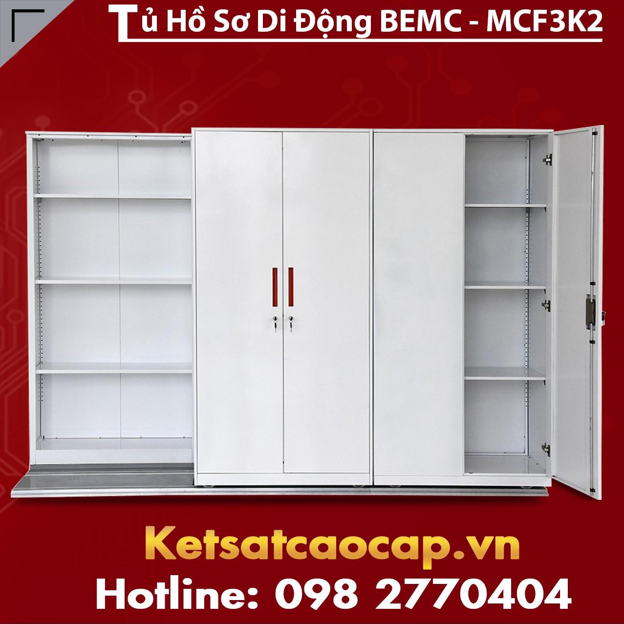 Tủ Thư Viện Di Động BEMC - MCF3K2