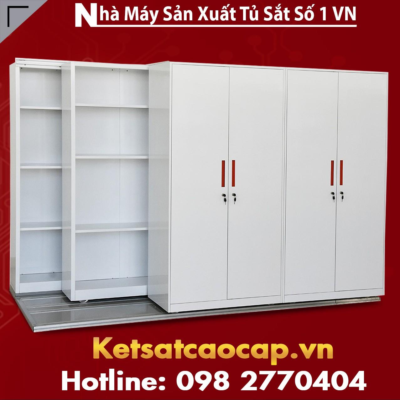 Tủ hồ sơ di động - tủ lưu trữ hồ sơ
