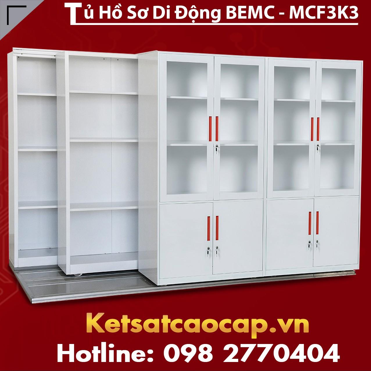 Tủ Thư Viện Di Động BEMC - MCF3K3