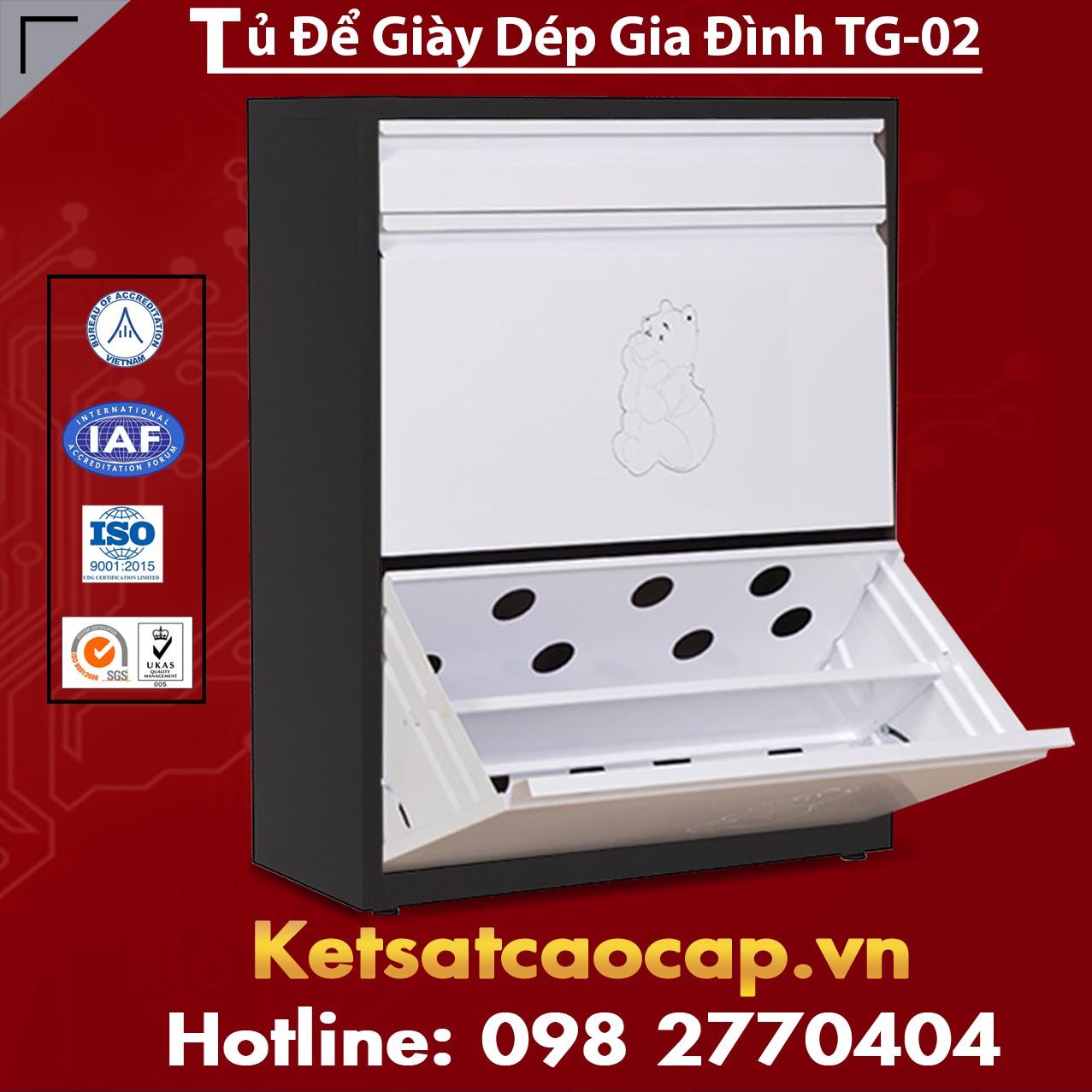 Tủ Để Giày Dép Gia Đình TG-02