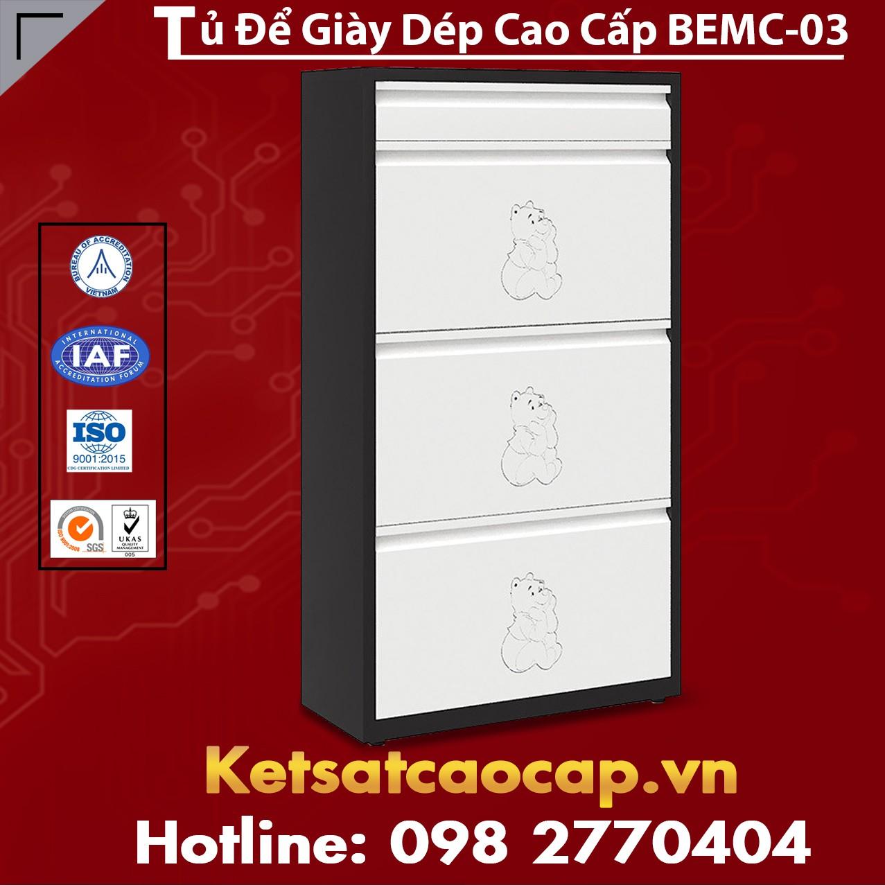 Tủ Để Giày Dép Cao Cấp BEMC-03