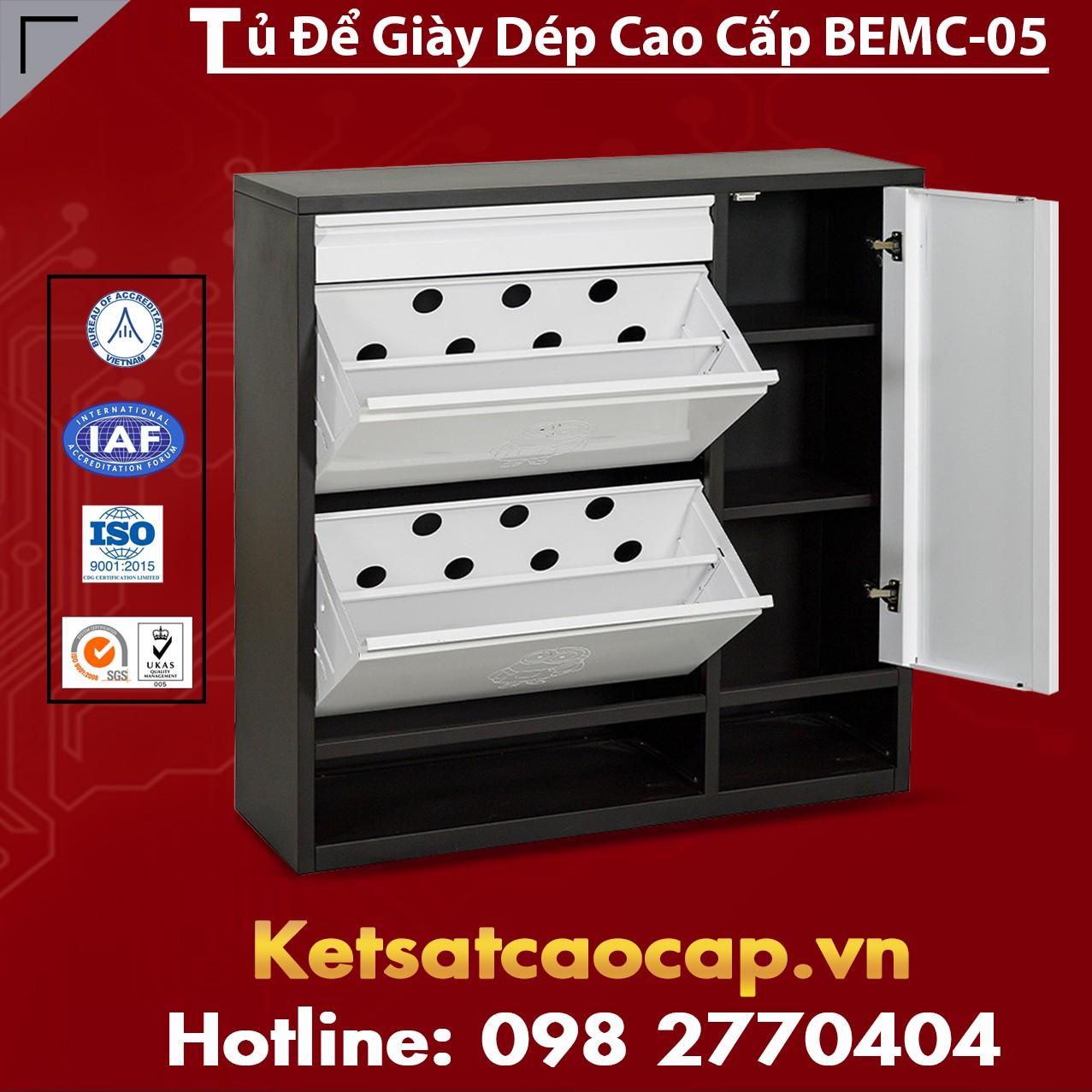 Tủ Để Giày Dép Cao Cấp BEMC-05