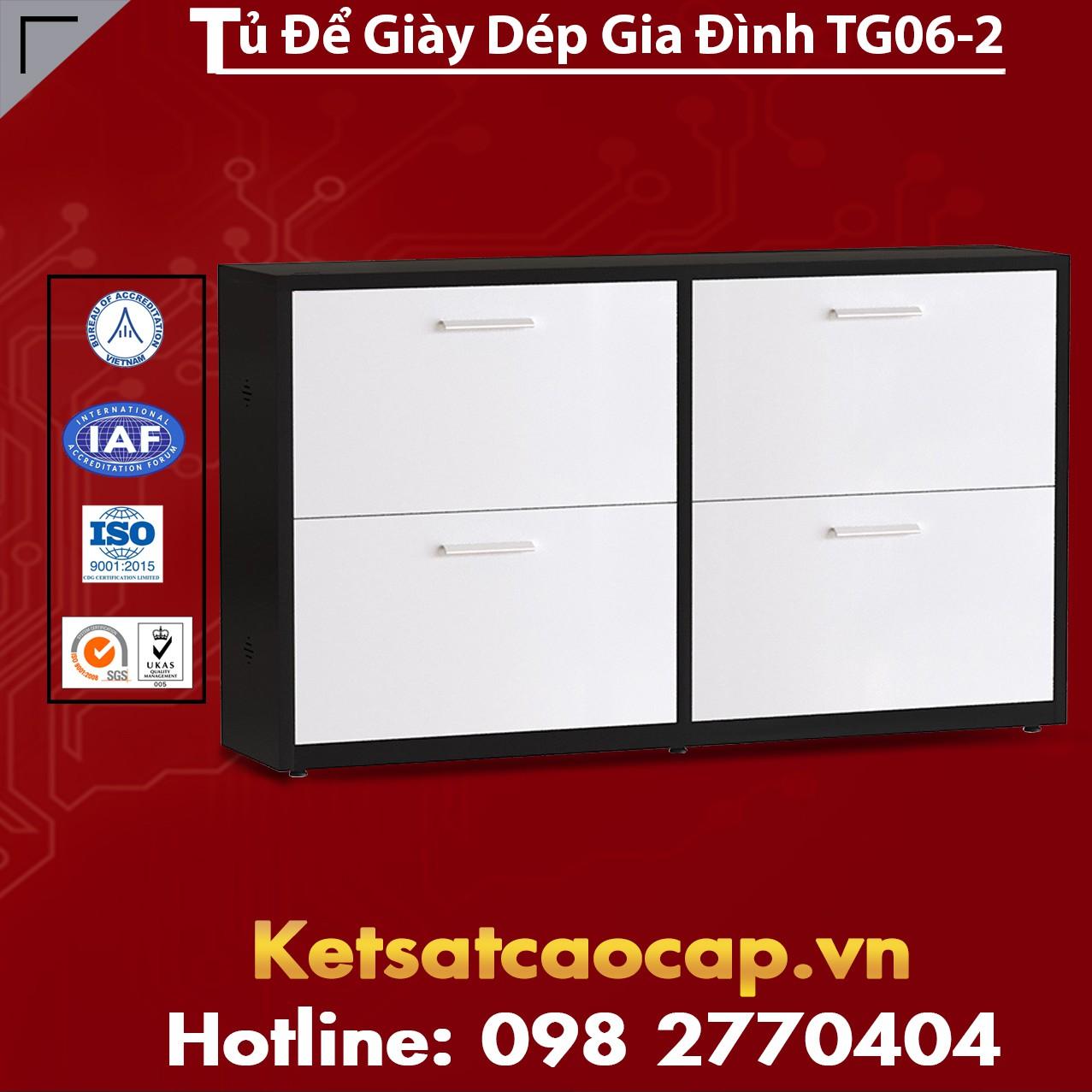 Tủ Để Giày Dép Gia Đình TG06-2