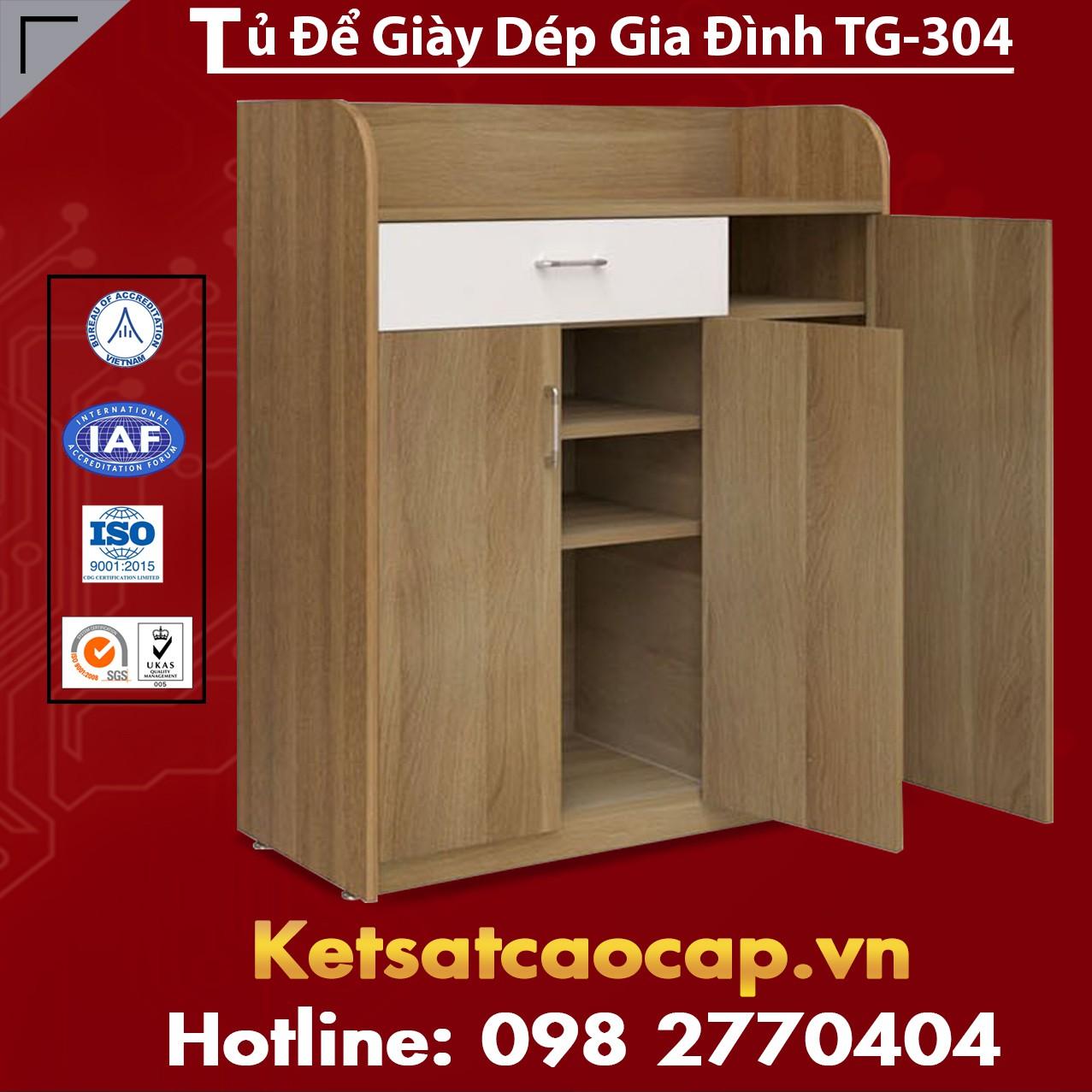Tủ Để Giày Dép Gia Đình TG-304
