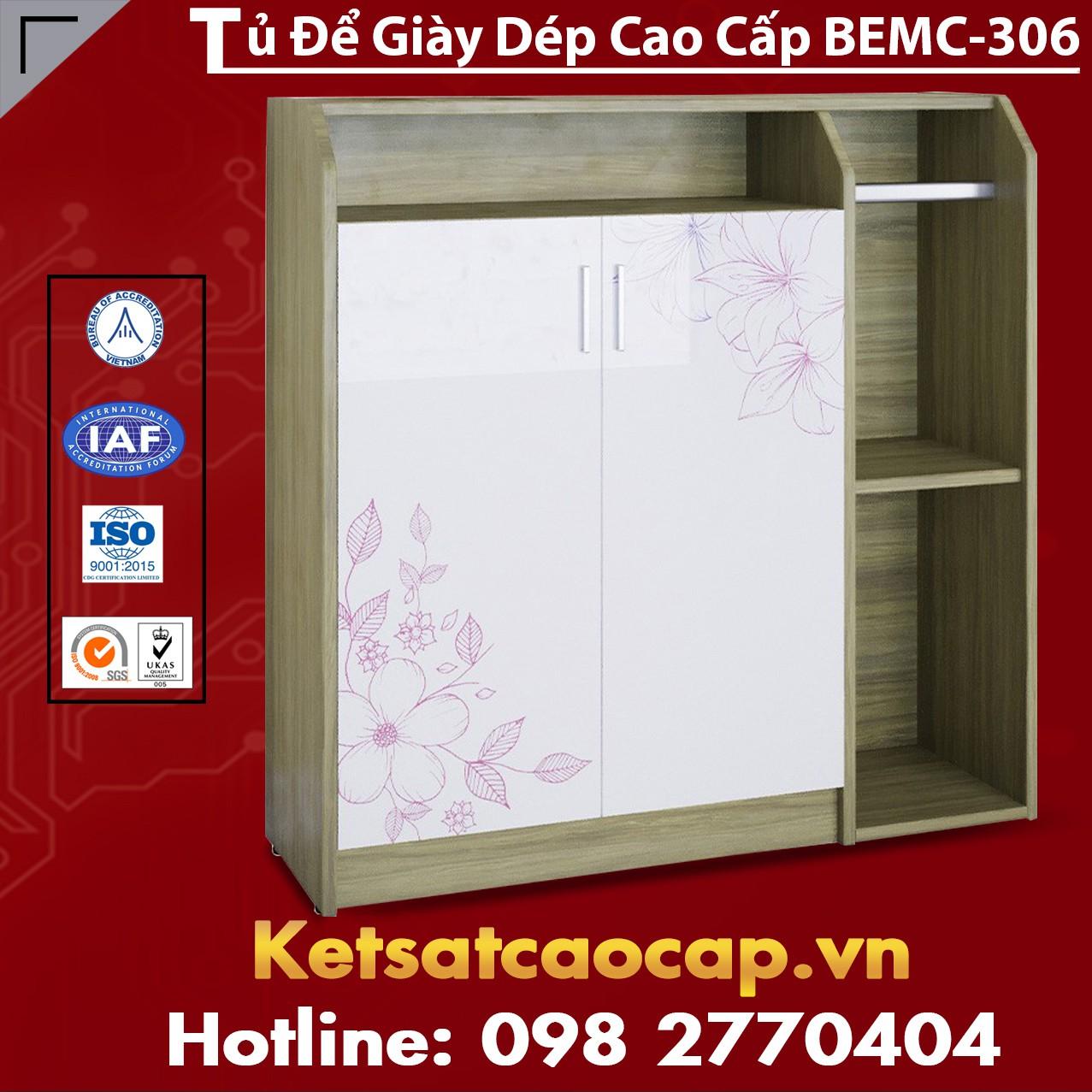 Tủ Để Giày Dép Cao Cấp BEMC-306