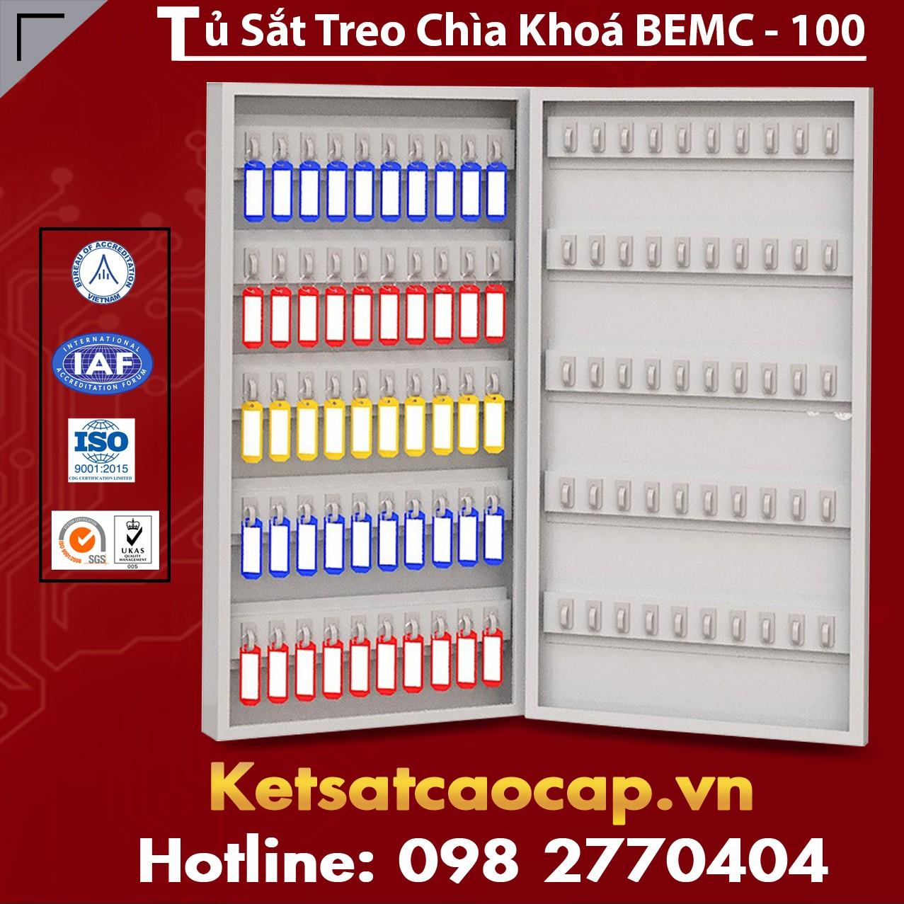 Tủ Sắt Treo Chìa Khoá BEMC-100