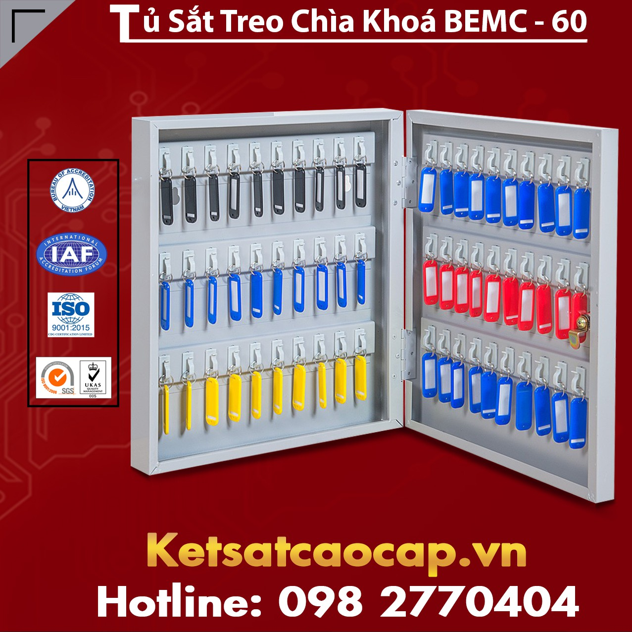 Tủ Treo Chìa Khoá BEMC-60