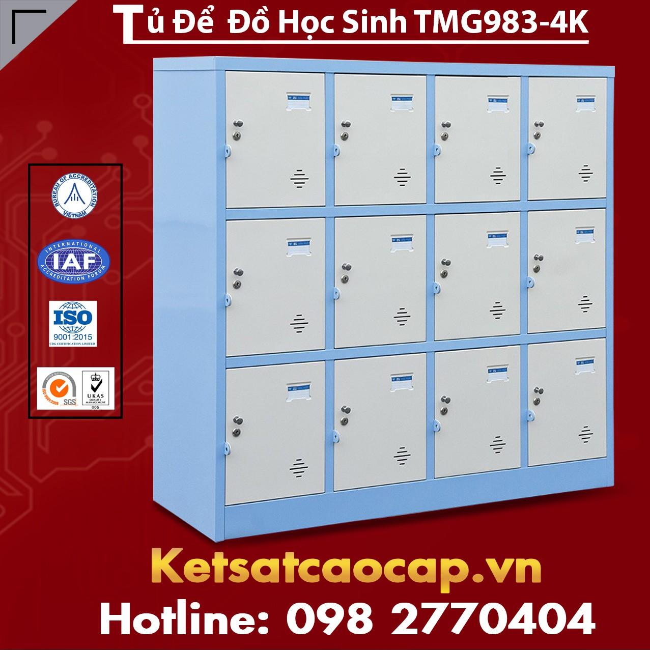 Tủ Để Đồ Học Sinh TMG983-4K