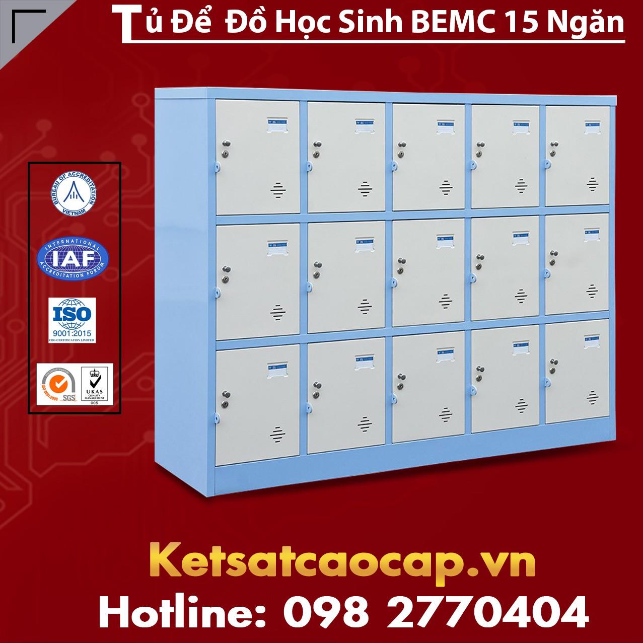 Tủ Để Đồ Học Sinh BEMC 15 Ngăn