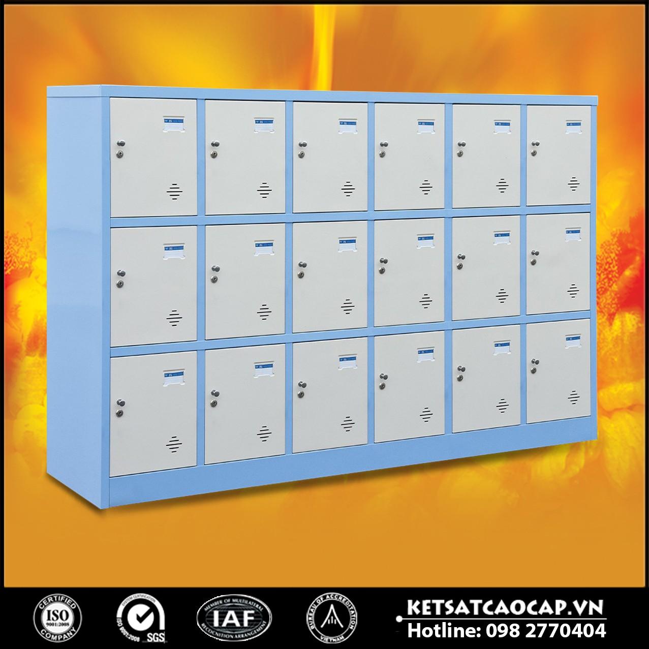 Tủ locker để đồ học sinh BEMC 18 ngăn