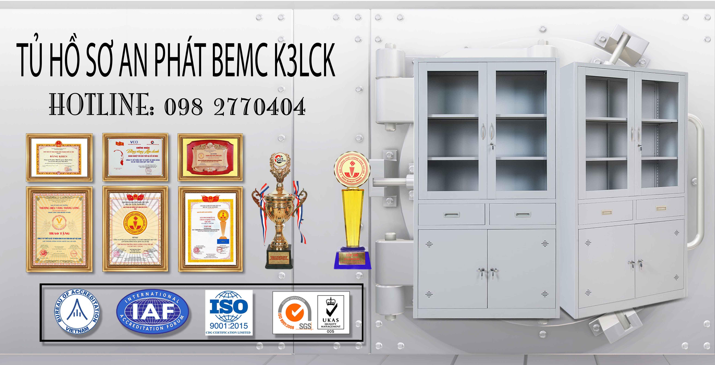 Tủ hồ sơ thép BEMC K3LCK
