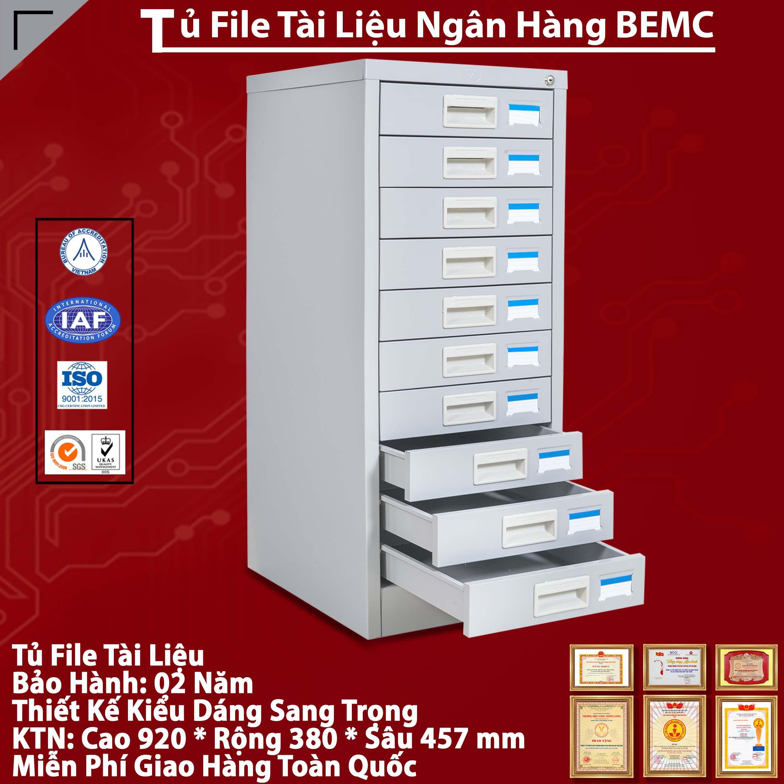 Nhà Cung Cấp Tủ Sắt Để FILE Tài Liệu BEMC - 10F
