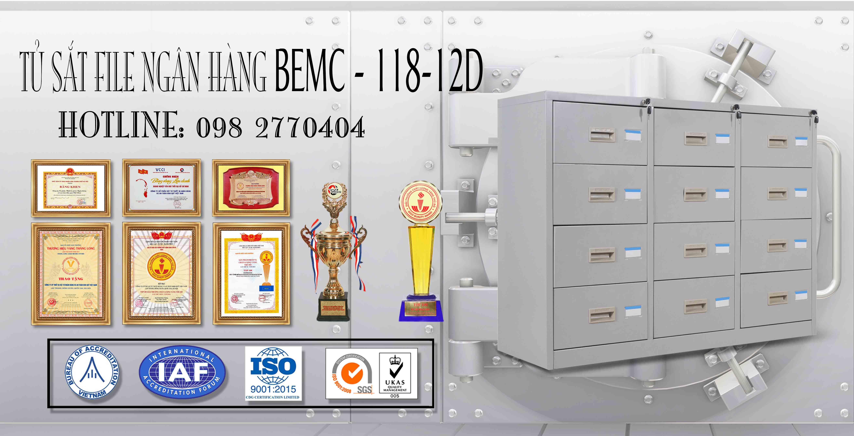 Tủ hồ sơ BEMC-118-12D